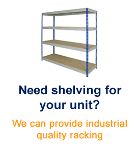 Need shelving for your unit?