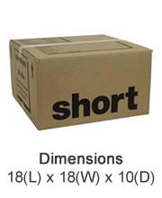 Small Cardboard Boxes - Seaton Self Storage, East Devon